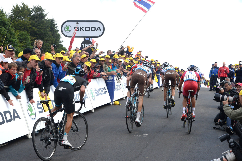Tour de France la Planche des Belle Filles