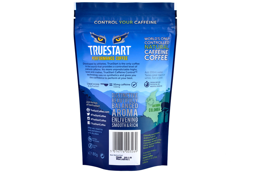 TrueStart Coffee Pouch Rear