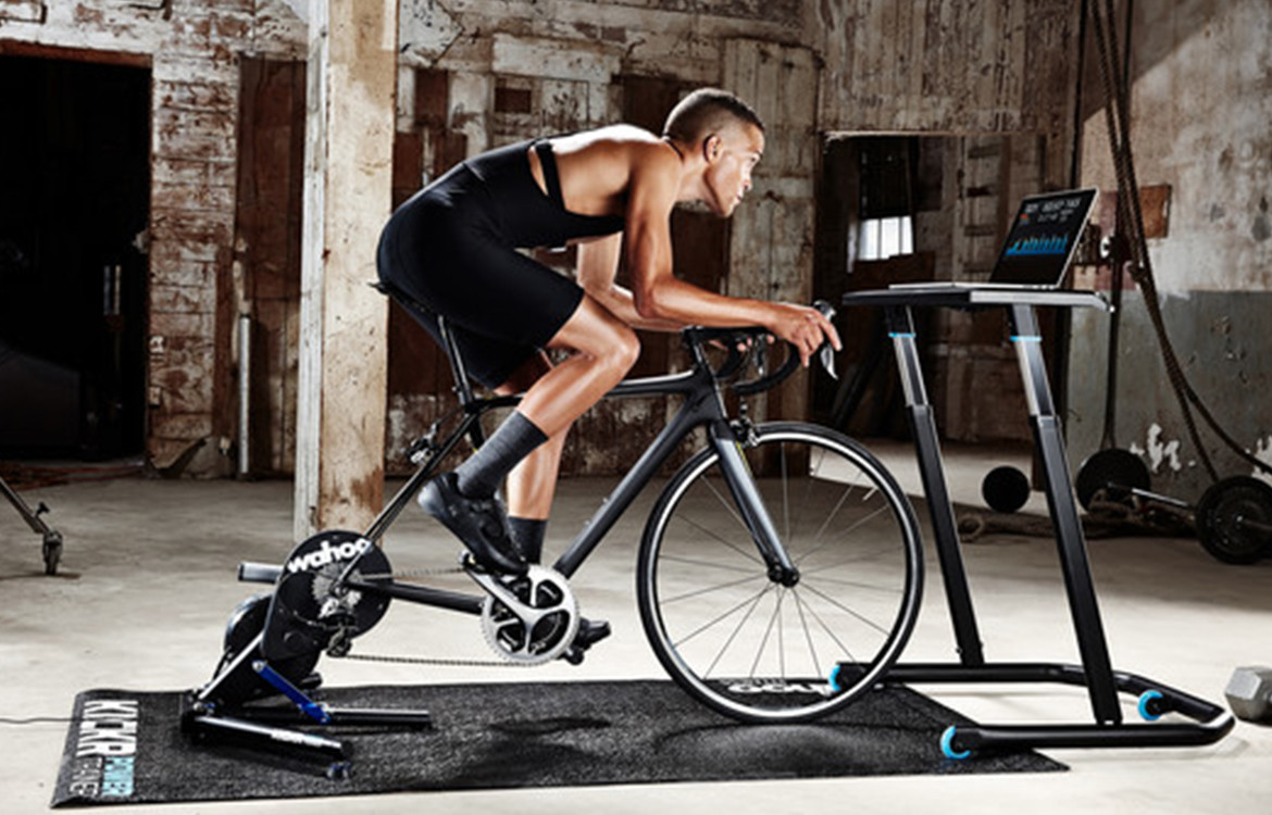 Wahoo KICKR SMART Turbo Trainer and Stand Set Up