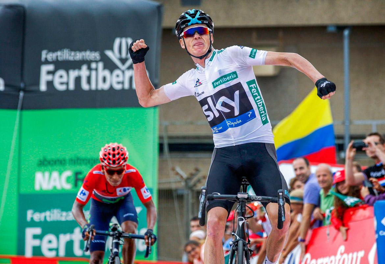Vuelta a Espana 2017 Chris Froome