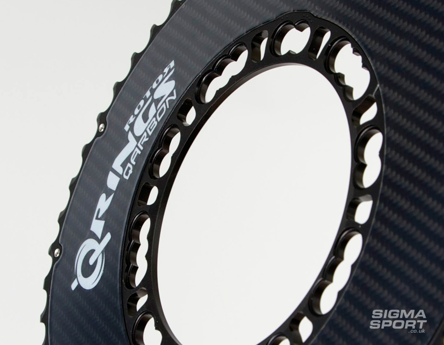 Why Use Rotor Q Rings chainring detail