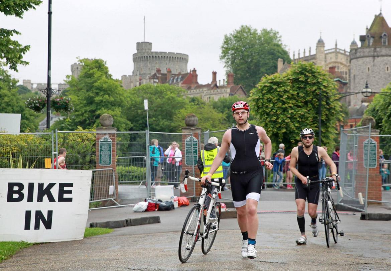 Windsor Triathlon Transition