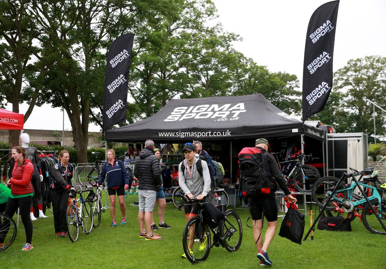Windsor Triathlon Event Village