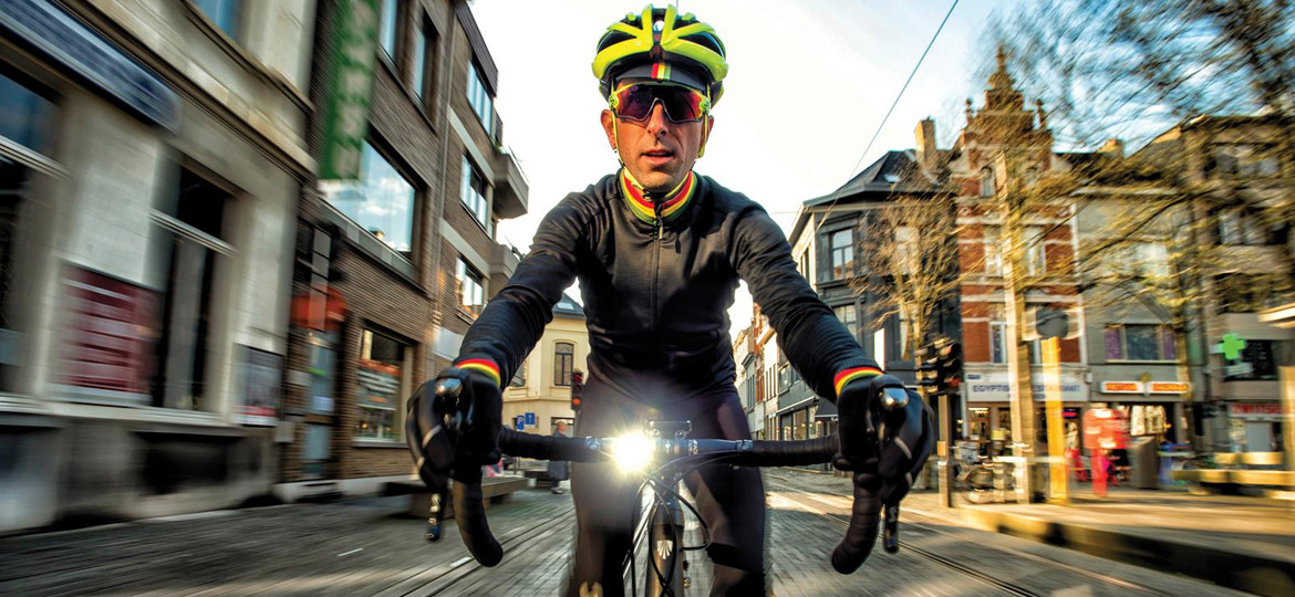How to stay visible riding through the day