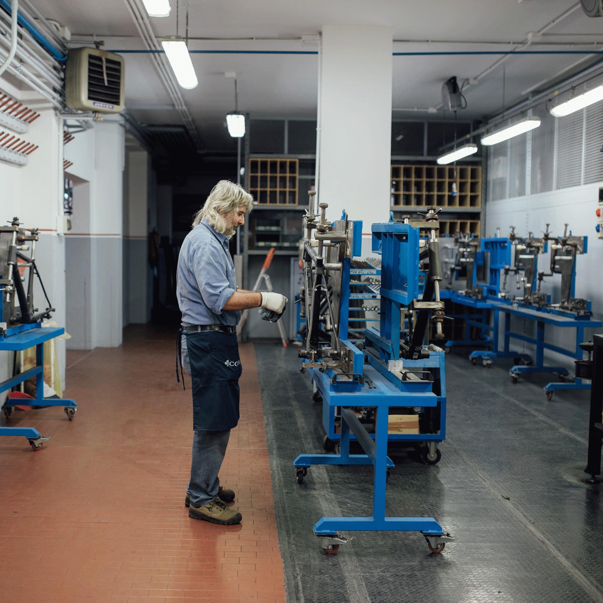 Colnago factory
