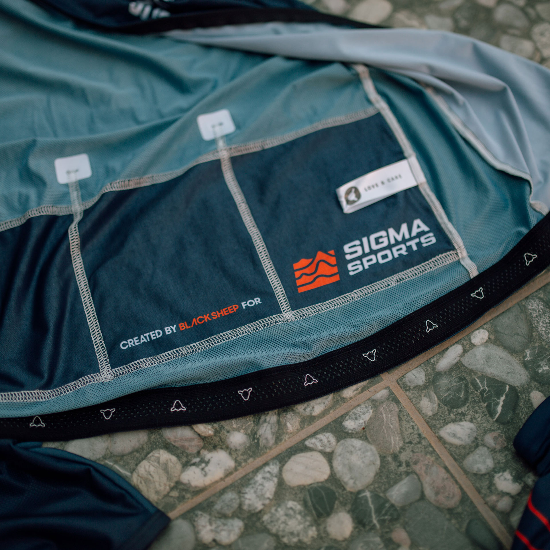 Sigma Sports Kit in conjunction with Black Sheep Cycling
