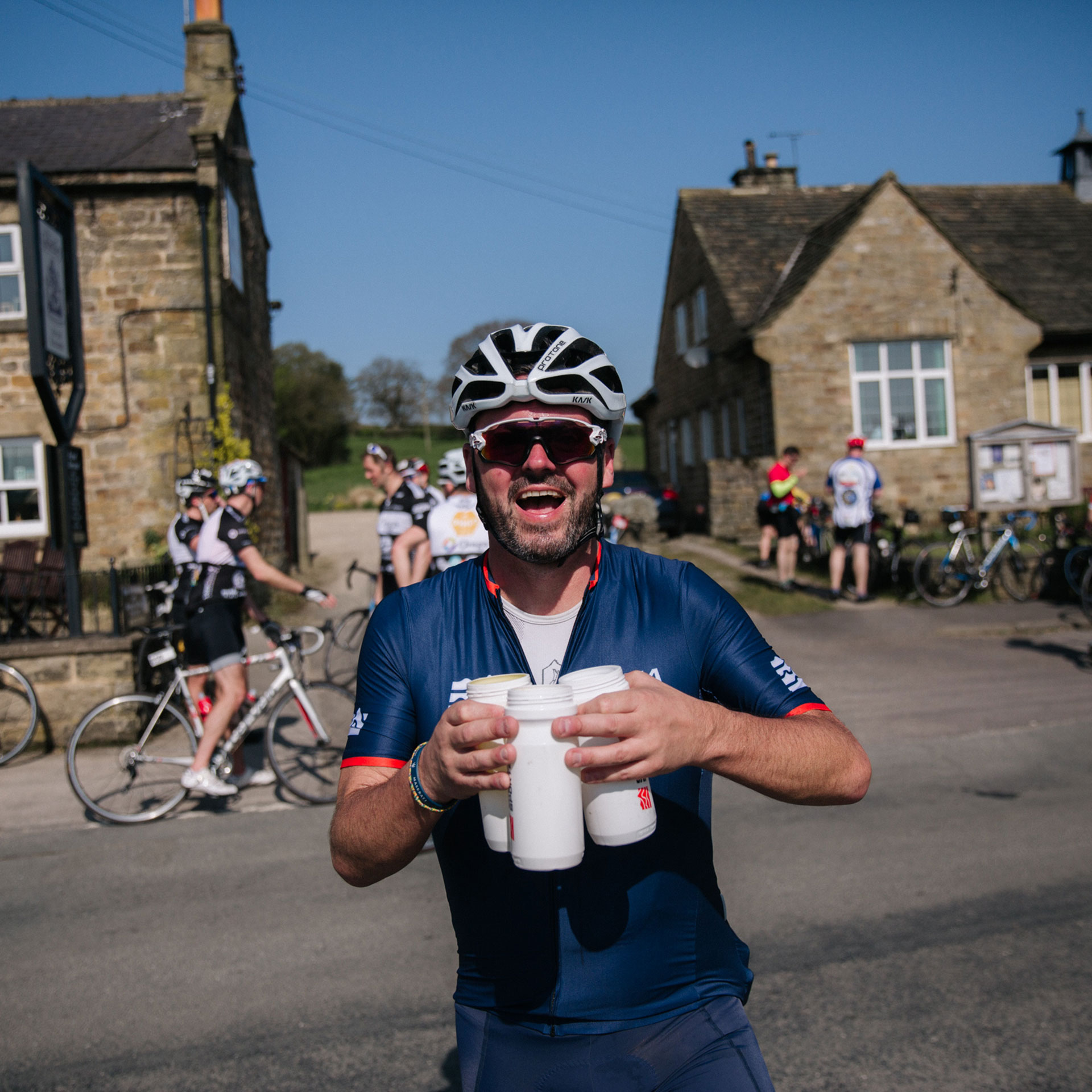 Tour de Yorkshire Ride Feed Station