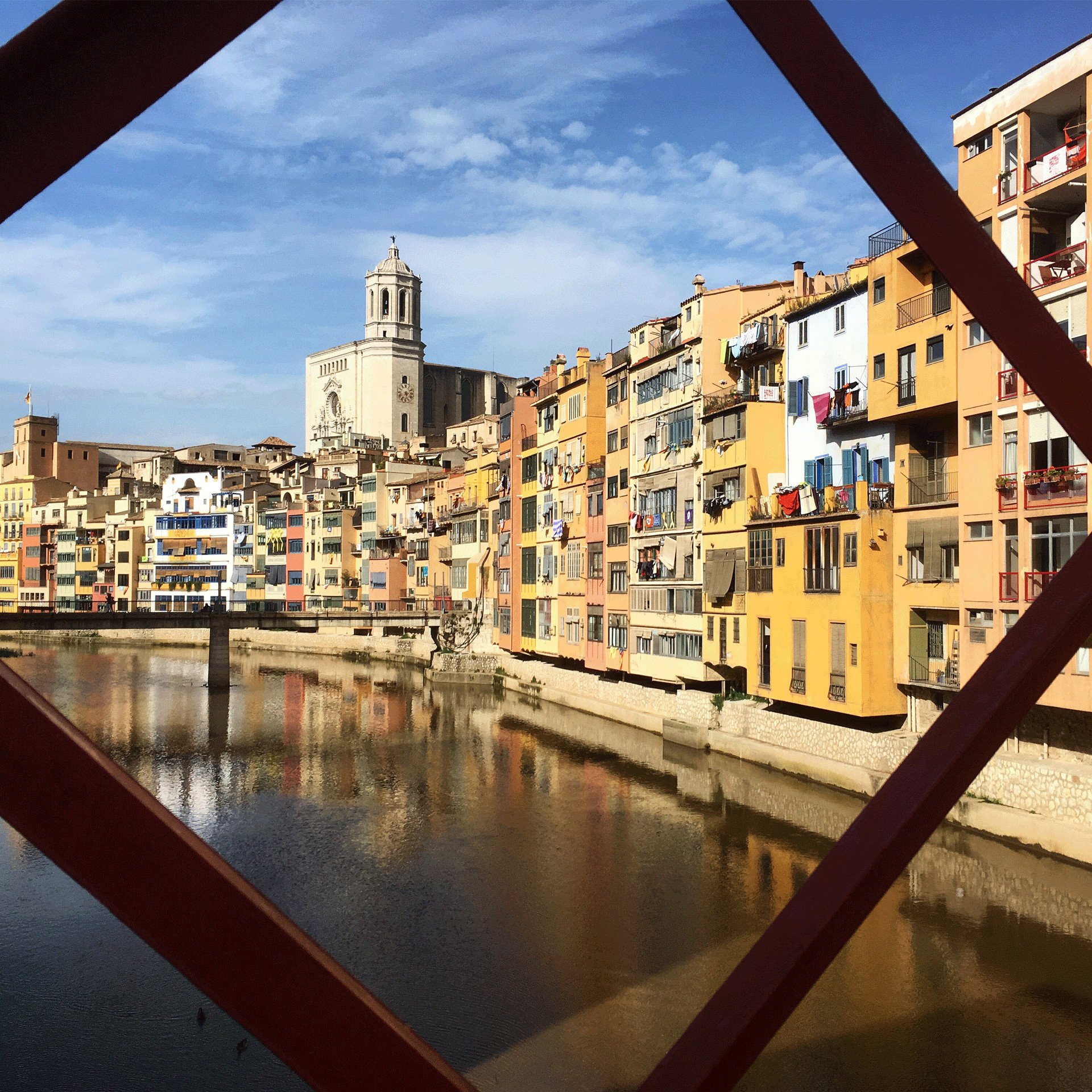 Girona river view