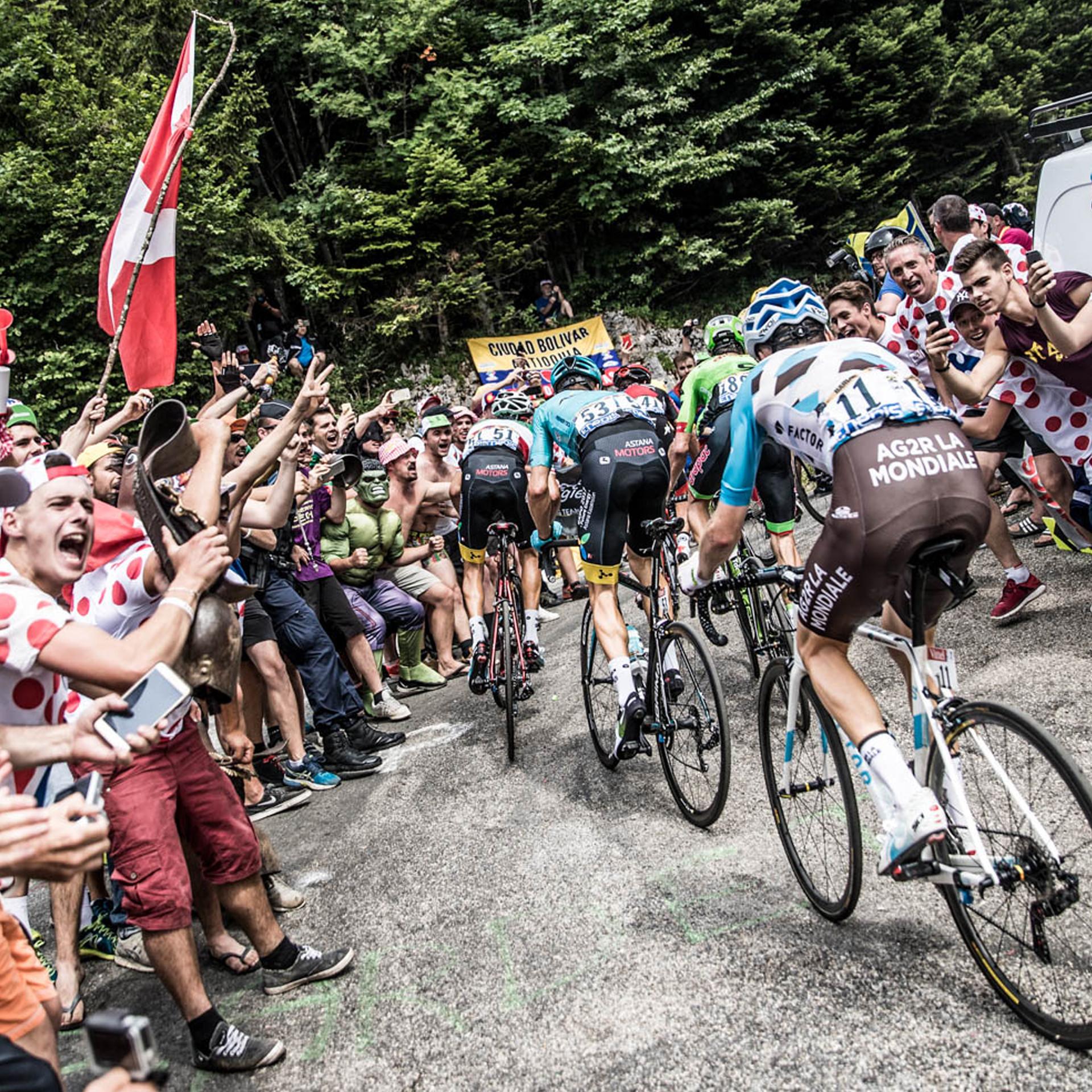 Chris Auld Race on a mountain