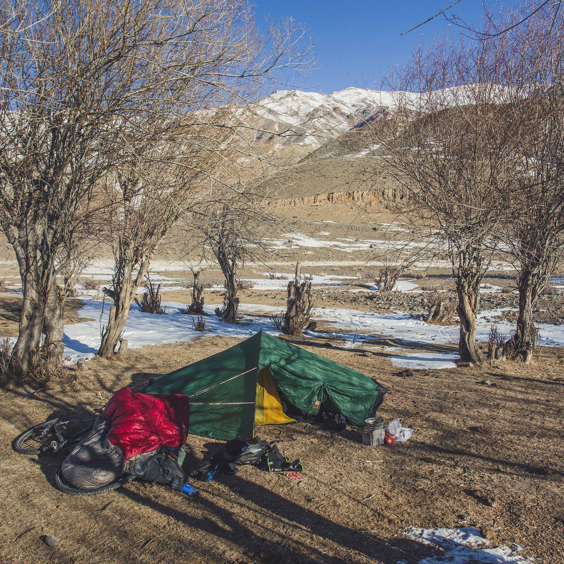Ed Shoote Camping