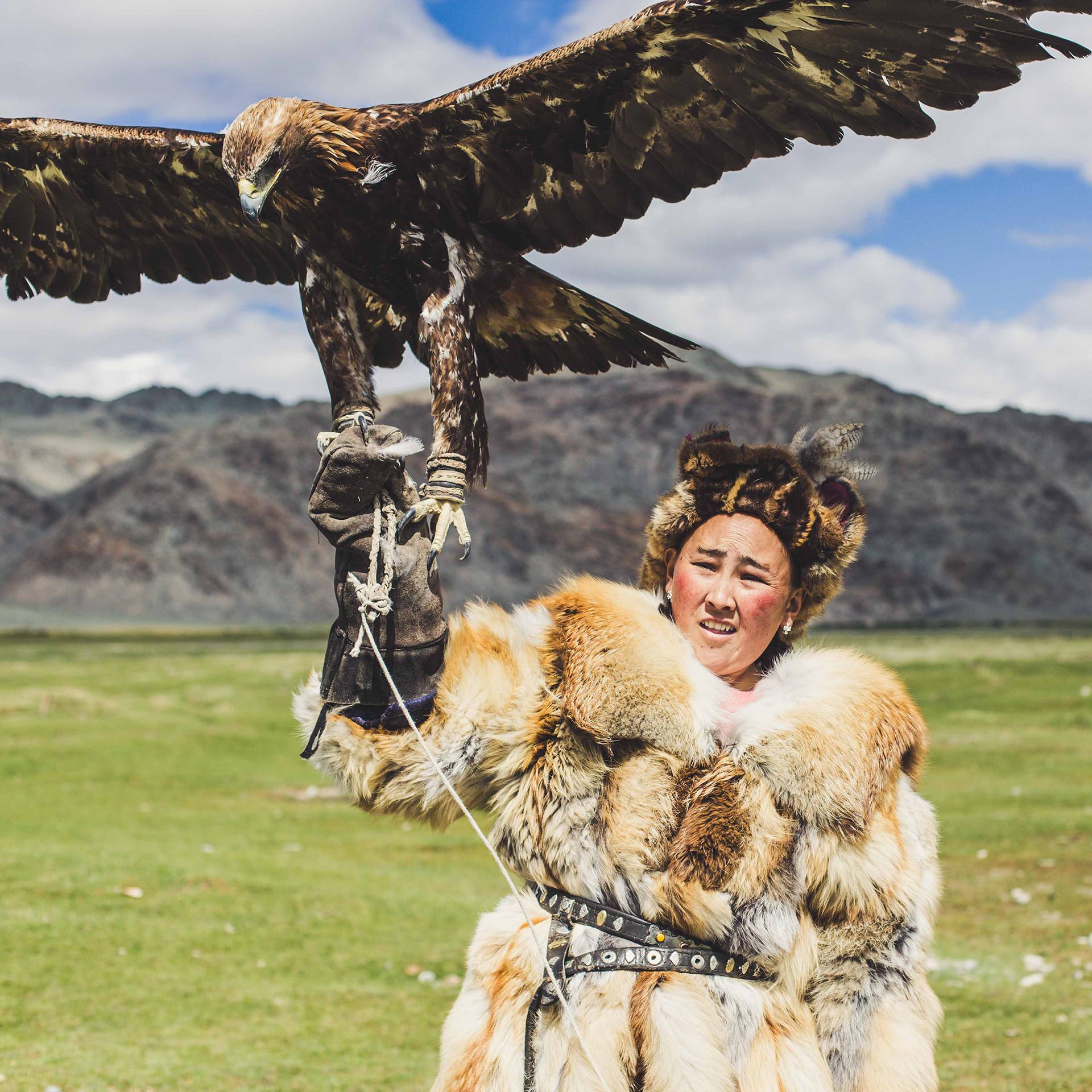 Ed Shoote Mongolia Eagle