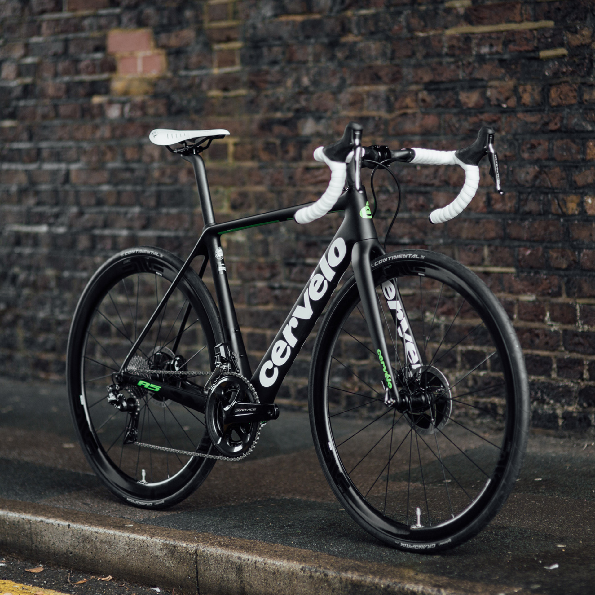 Jake Armstrong Cervelo R5 Disc Road Bike angle BAAW