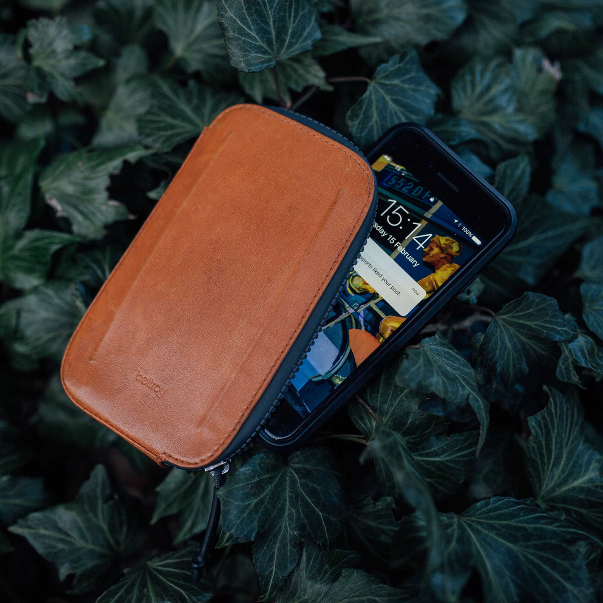 Phone in Bellroy Case
