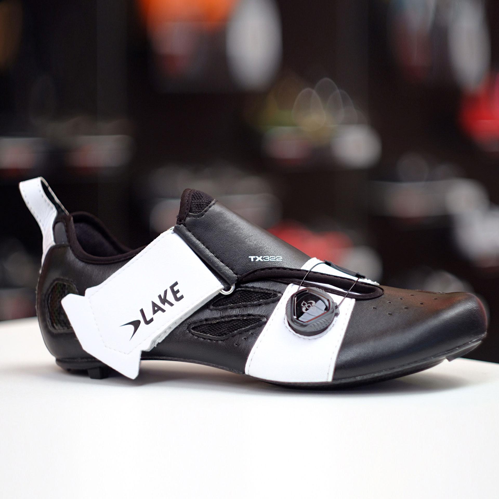 Lake TX322 triathlon shoe