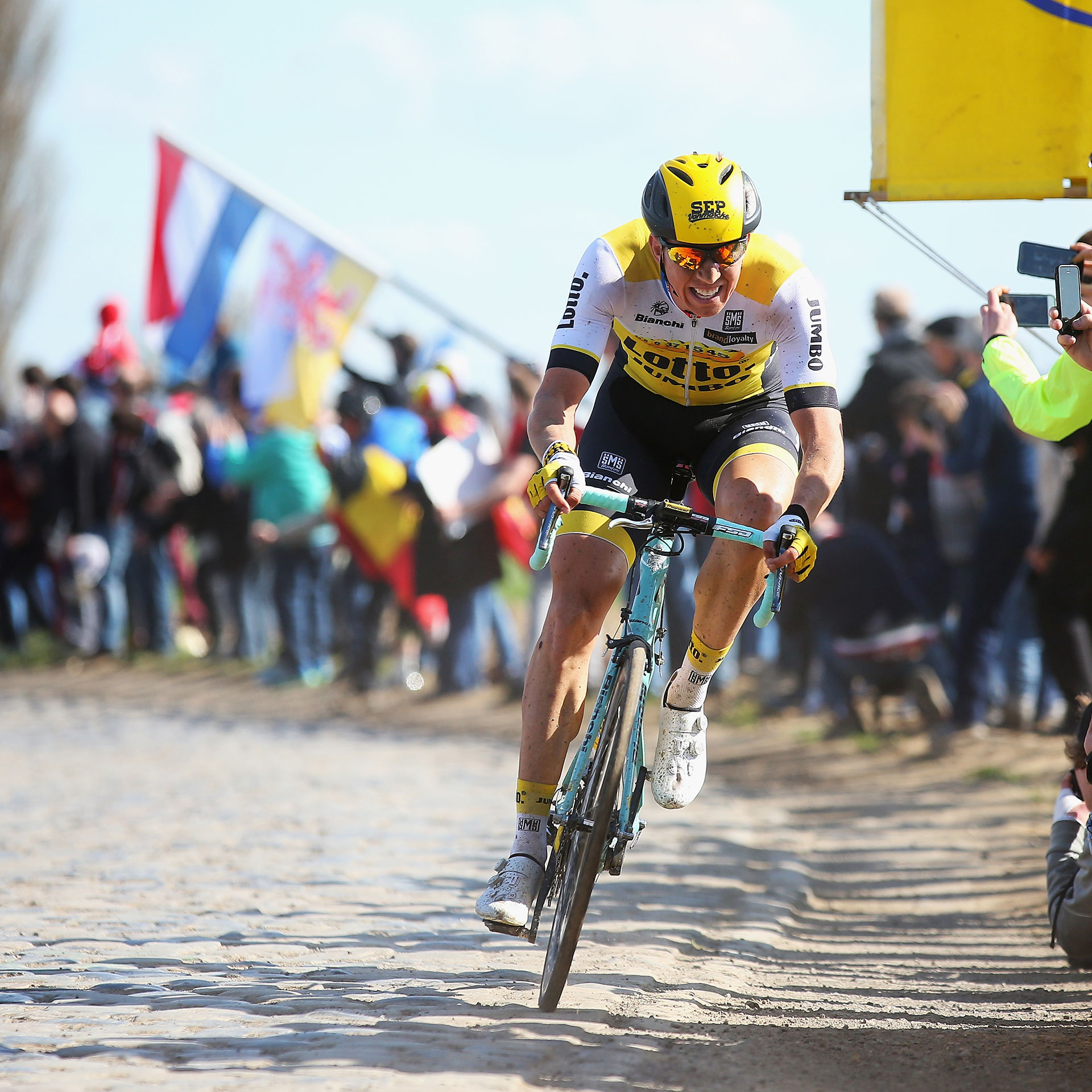 LottoNL Jumbo Pro Cycling Team Paris Roubaix
