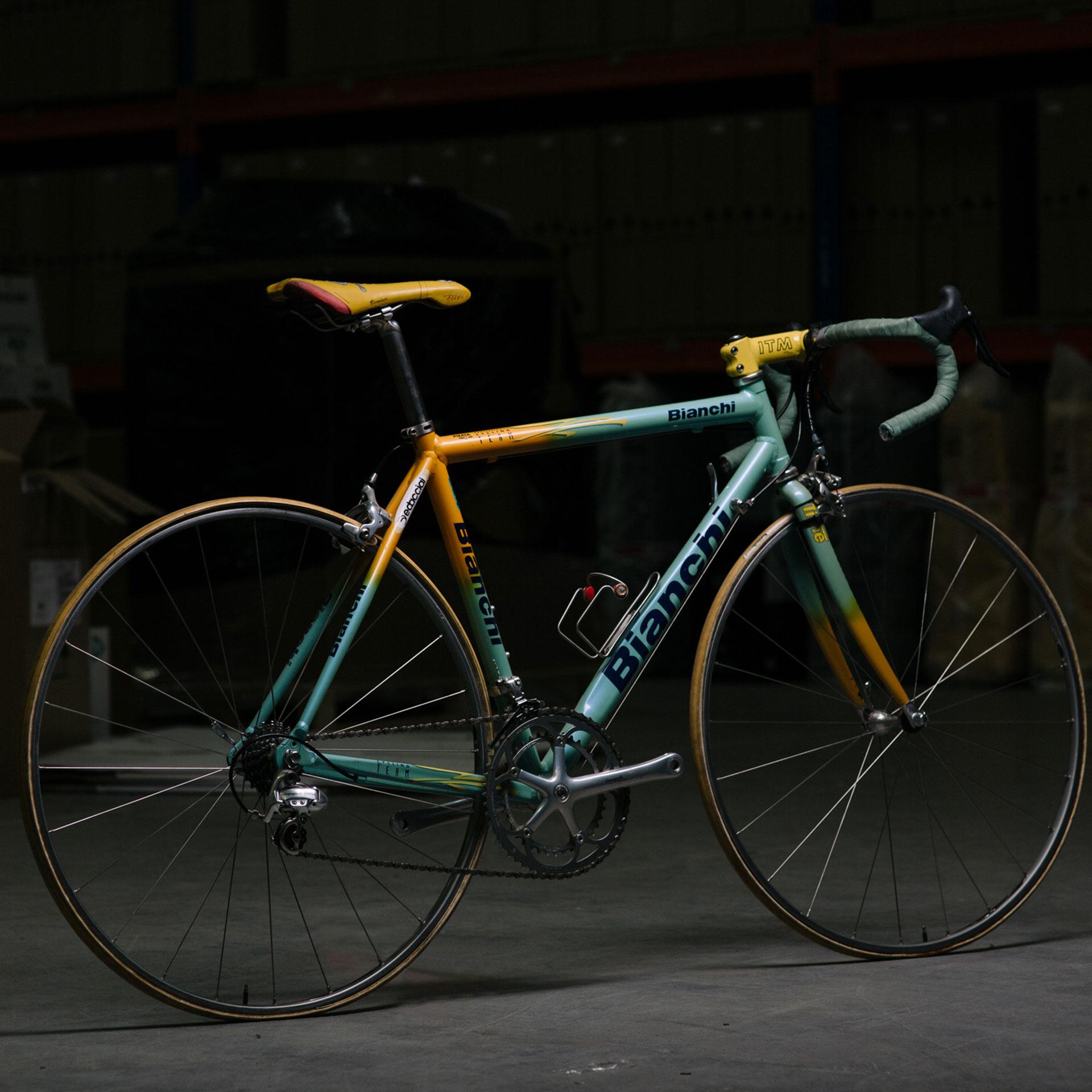 Marco Pantani's Bianchi