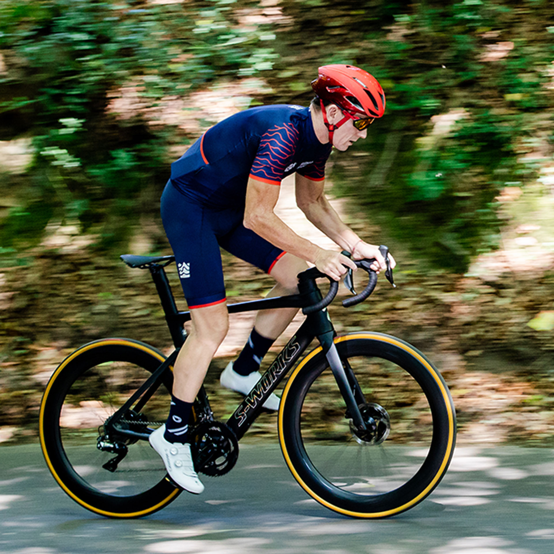 matt stephens riding the specialized s-works venge road bike 2019