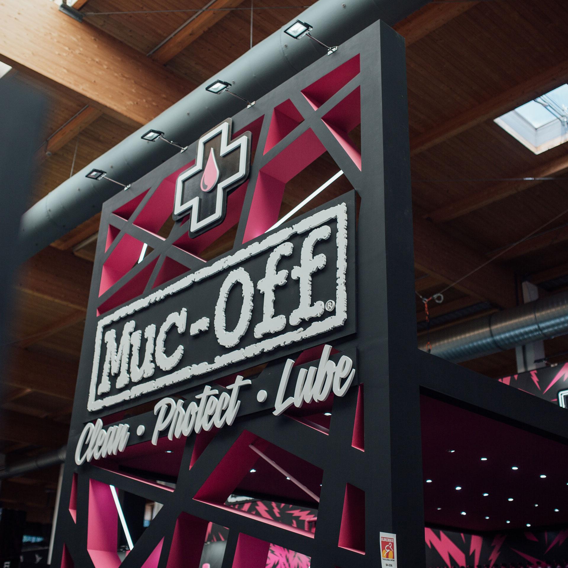 Muc-Off Eurobike 2018 stand