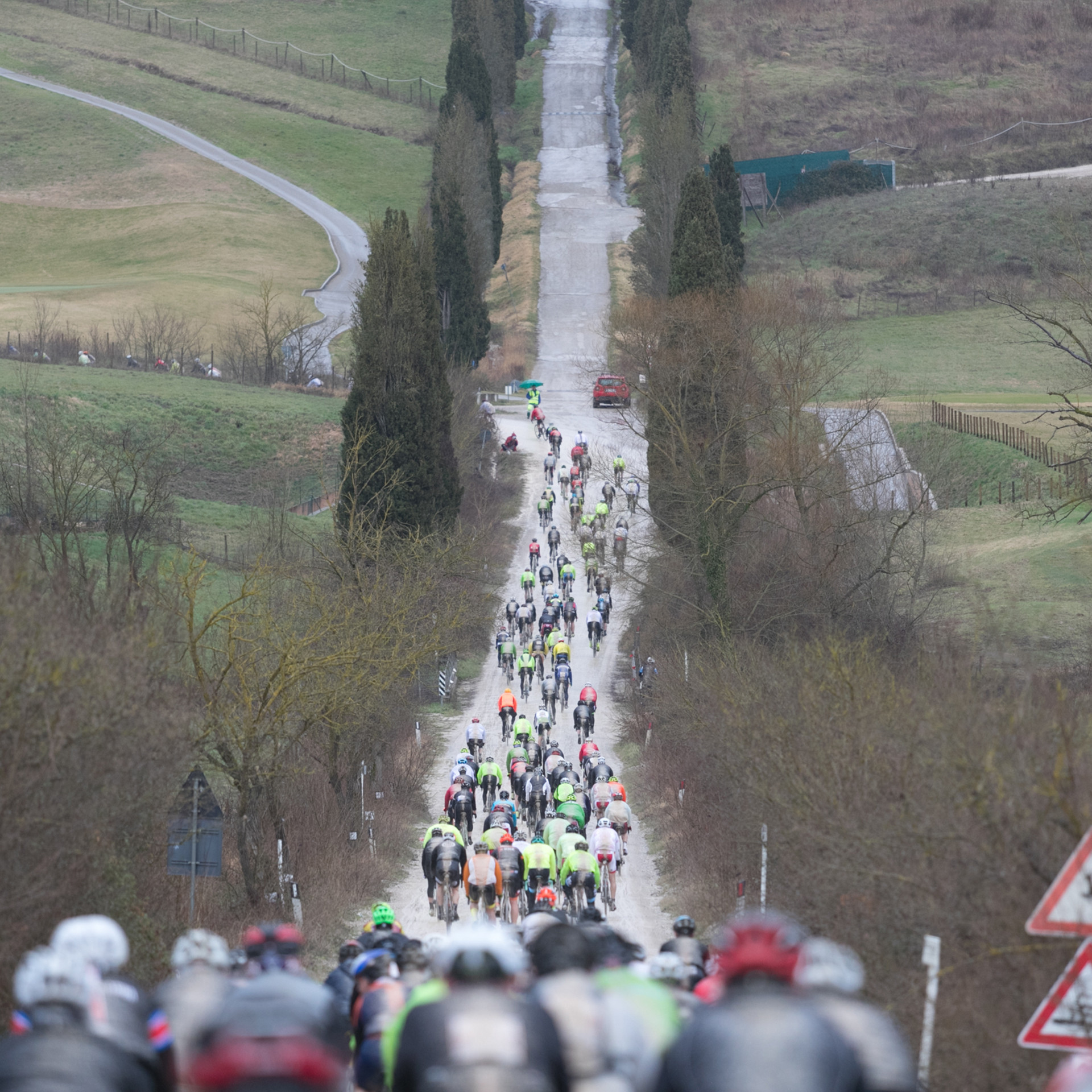 Strade Bianche Gran Fondo Sector Two
