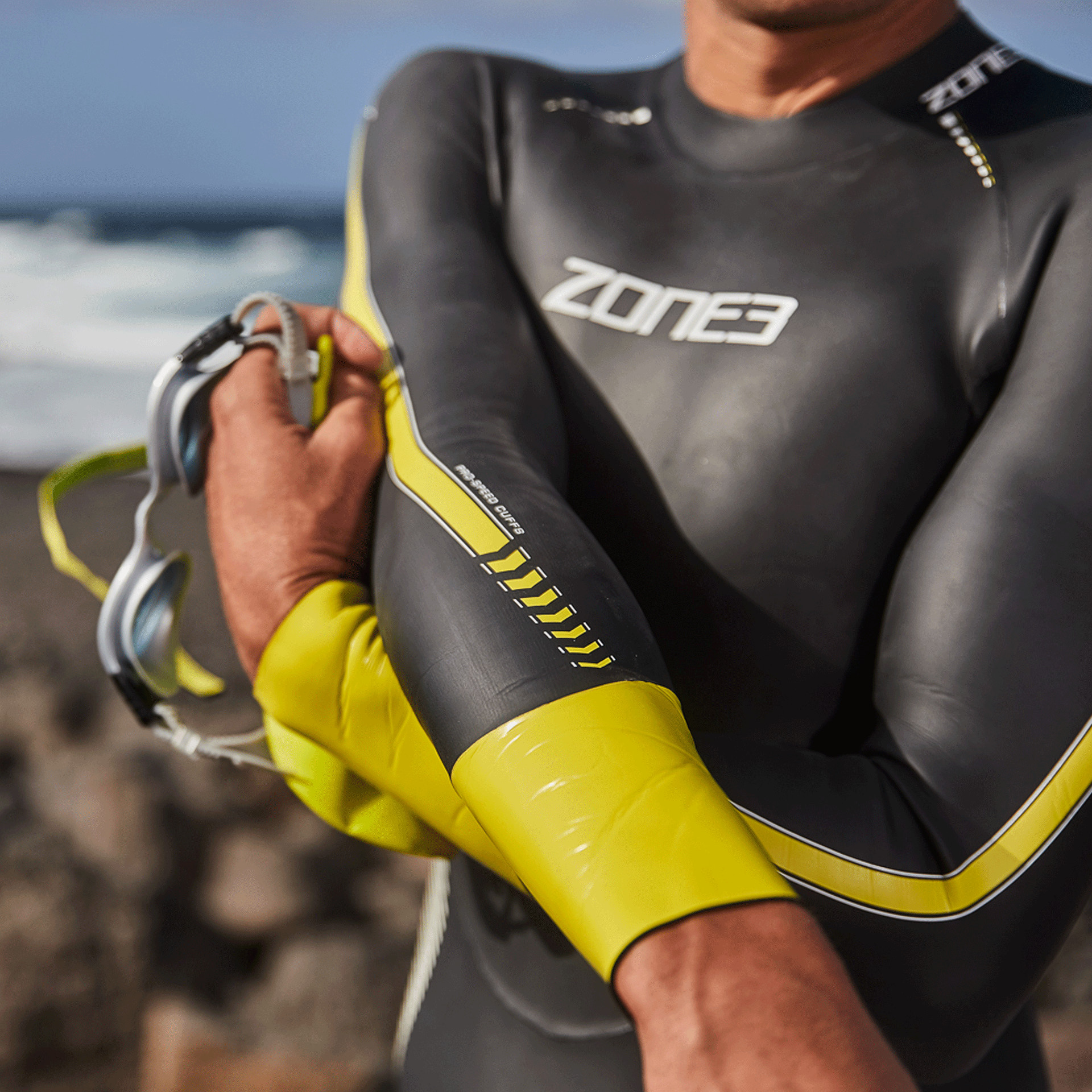 Zone 3 wetsuit fit
