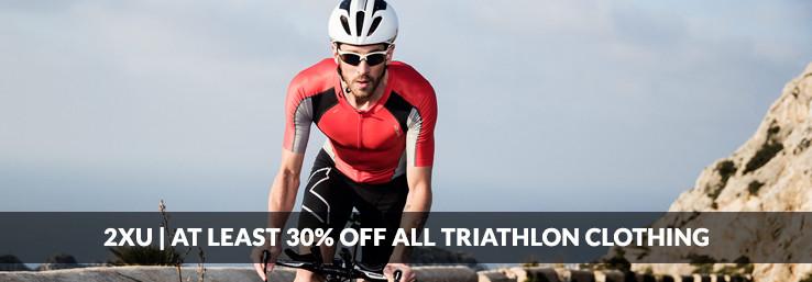 30% Off 2XU Triathlon Clothing