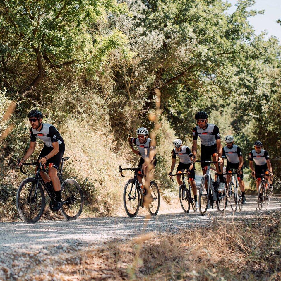 Colnago V3Rs Road Bike on gravel