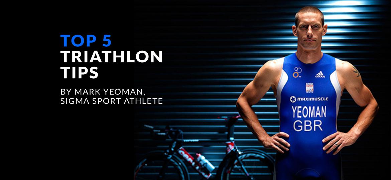 Top 5 Triathlon Tips