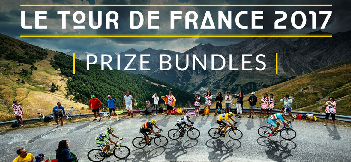 Celebrate the Tour de France - With a chance to win a pro team bundle