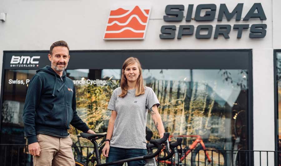 sigma sports bike handover