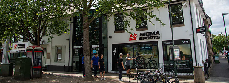 Sigma Sports Store Front