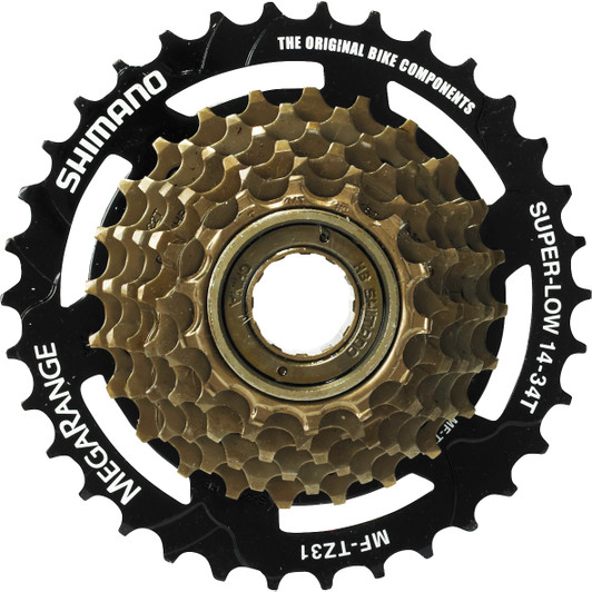 Shimano TZ31 Freewheel 7 Speed 14-34 Cassette