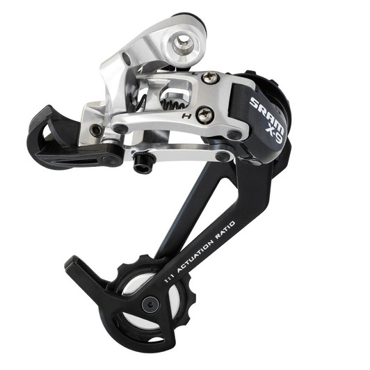 SRAM X9 9 Speed Short Cage Rear Derailleur