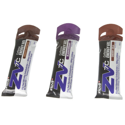 ZipVit Sport ZV7 Caffeine Energy Gel Variety Box 24x60ml