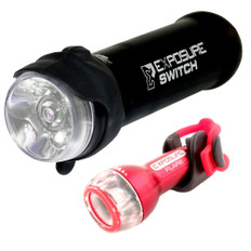 Exposure Lights Switch Front Light with Flare Rear Light
