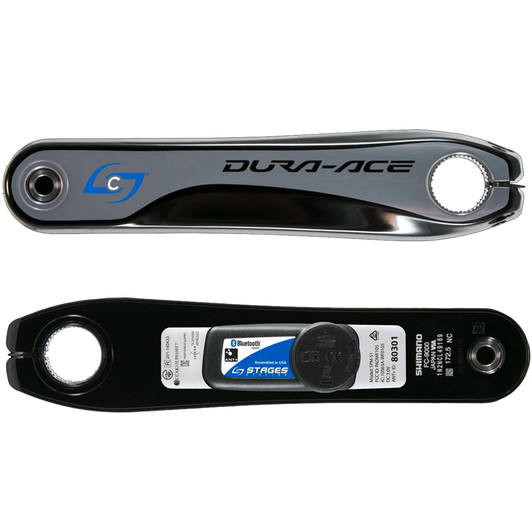 Stages Cycling Shimano Dura Ace 9000 Power Meter Crank Arm 2nd Gen