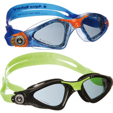 Aqua Sphere Kayenne Smoke Lens Junior Swimming Goggles