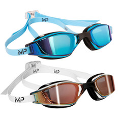 Aqua Sphere Michael Phelps Xceed Goggle with Titanium Mirrored Lenses