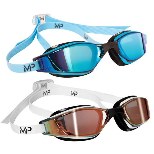 Aqua Sphere Michael Phelps Xceed Goggle With Titanium Mirrored Lenses