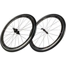 HED Jet 4 Black Stallion Clincher Wheelset