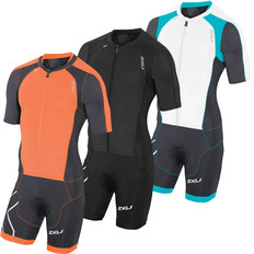 2XU Compression Sleeved Full Zip Trisuit