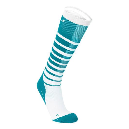 2XU Striped Run Womens Compression Socks