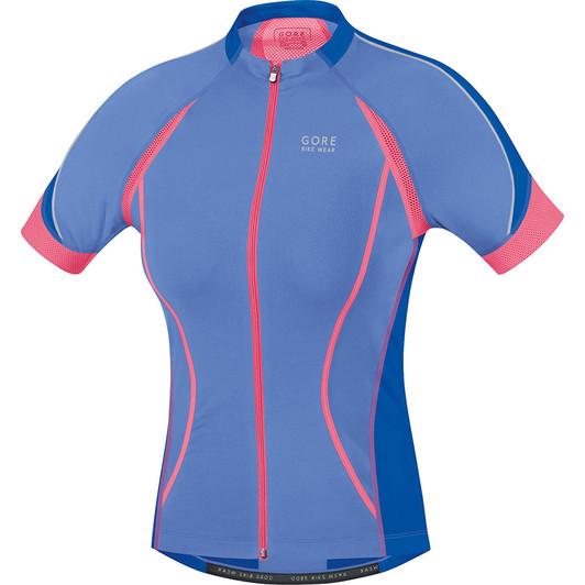 Gore Bike Wear Oxygen Full-Zip Womens Short Sleeve Jersey