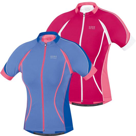 Gore Wear Oxygen Full-Zip Womens Short Sleeve Jersey ... ca3b7f54a