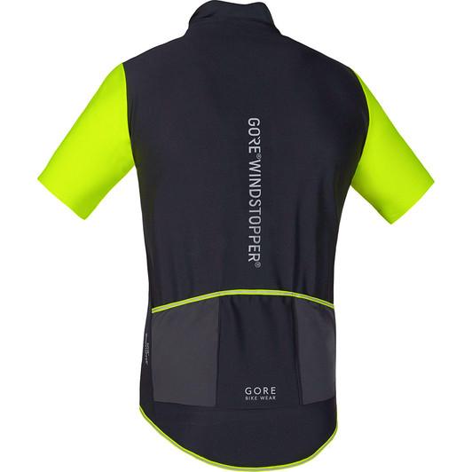 Gore Bike Wear Power Windstopper Soft Shell Short Sleeve Jersey