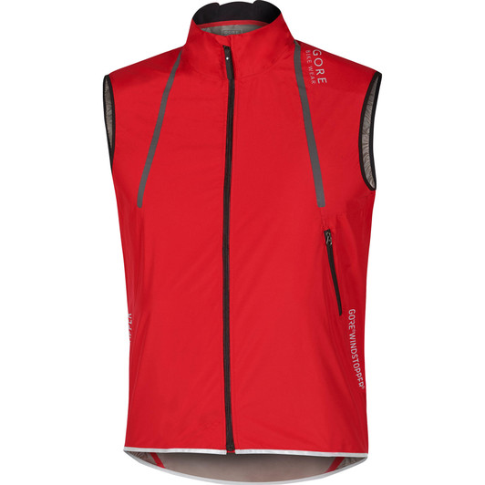 Gore Bike Wear Oxygen Windstopper Active Shell Light Vest