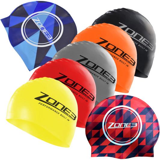 6ac09f3f545b2d Zone3 Silicone Swimming Cap | Sigma Sports