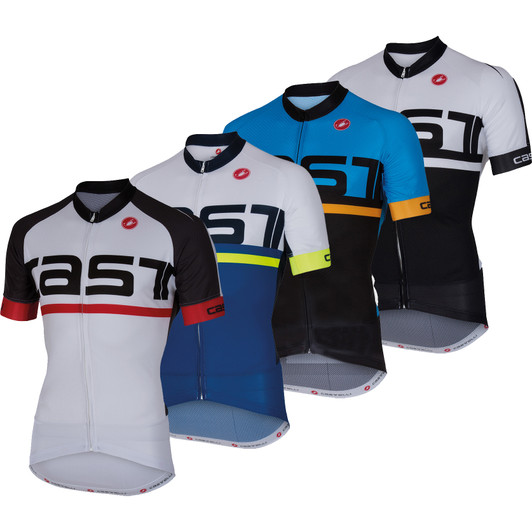 Castelli Meta Full-Zip Short Sleeve Jersey