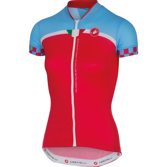 Castelli Duello Womens Short Sleeve Jersey