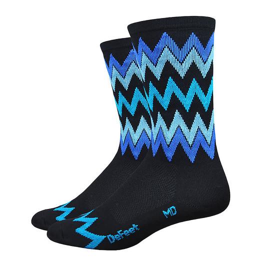 DeFeet Aireator Speak Easy Hi Top 6 Inch Sock