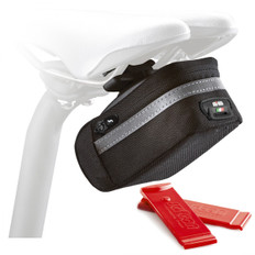 SciCon Soft 350 Saddle Bag with Tyre Levers